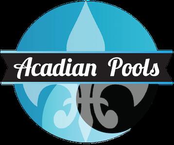 Acadian Pools Logo