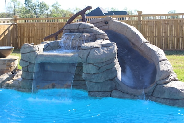 Slide and Grotto