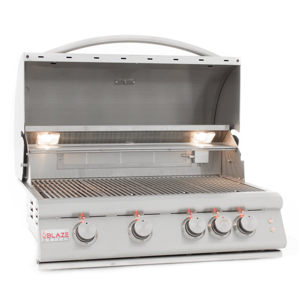 "4 Burner Blaze Grill 32"" Natural Gas With Lights"