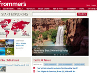 Frommer's interface