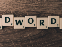 adwords in scrabble letters
