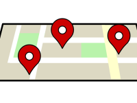 location markers