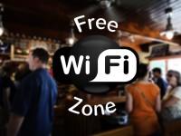 free wifi zone logo