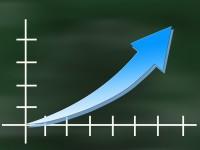 upward trend graph