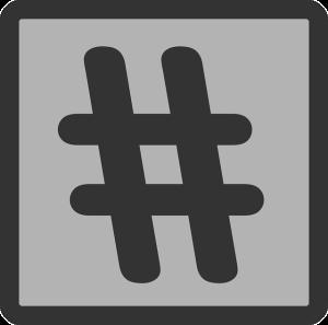 hastag symbol