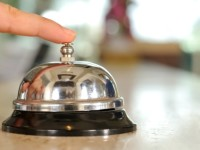 ringing front desk bell