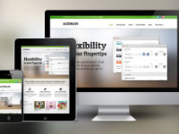 responsive design across 3 screens