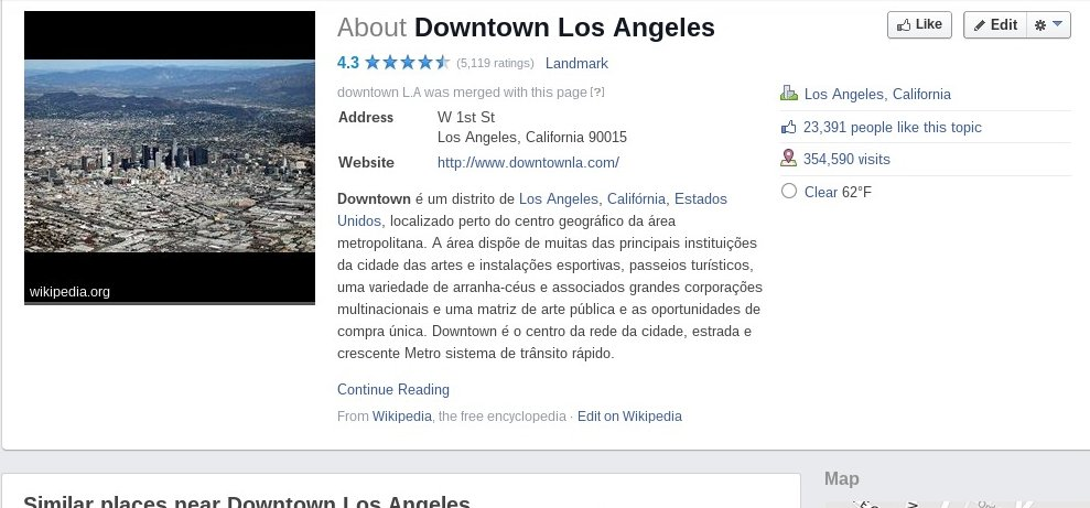 Downtown LA facebook page