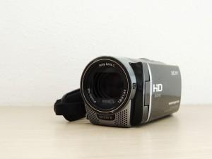 video camera pointing at screen