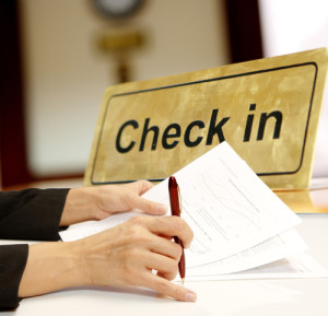 hotel occupancy check in