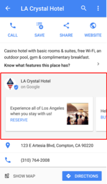 viewing posts in google maps on mobile