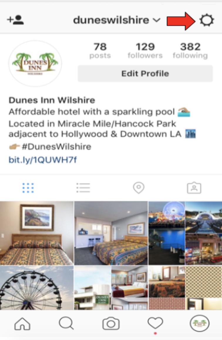 Dunes Inn Wilshire Instagram