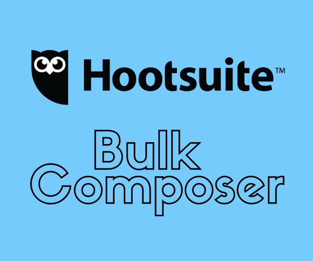 Saving Time on Scheduling Content with the Hootsuite Bulk Composer