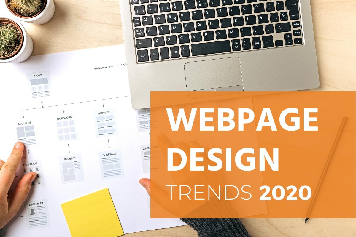latest webpage design trends