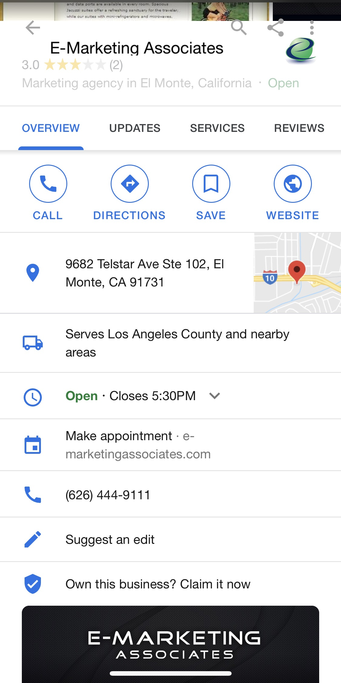 how google posts look on mobile