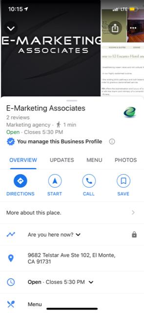 google posts in google maps