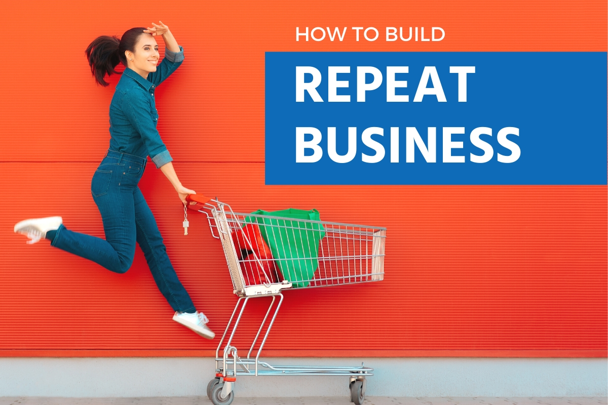 This guide will show you how to build repeat business.