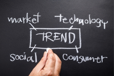 Search for trends in the market, technology, social and consumer