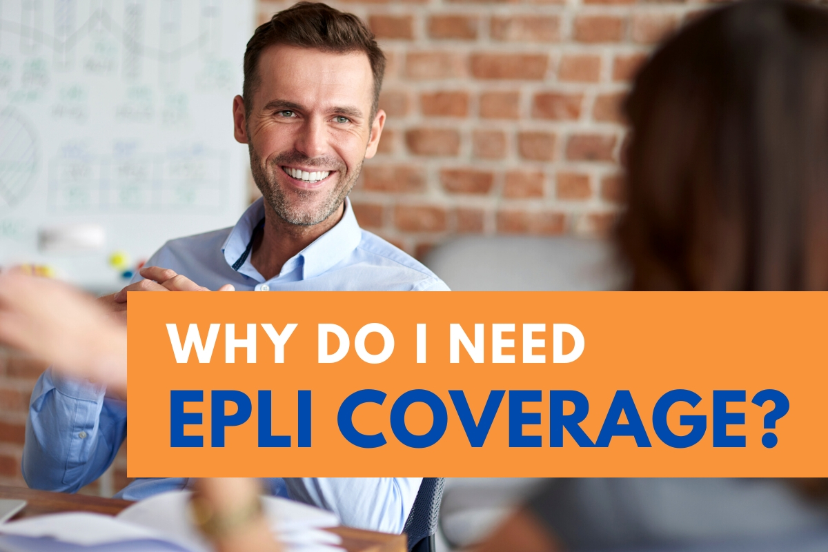 Why Do I need EPLI Coverage - Professional talking to another person