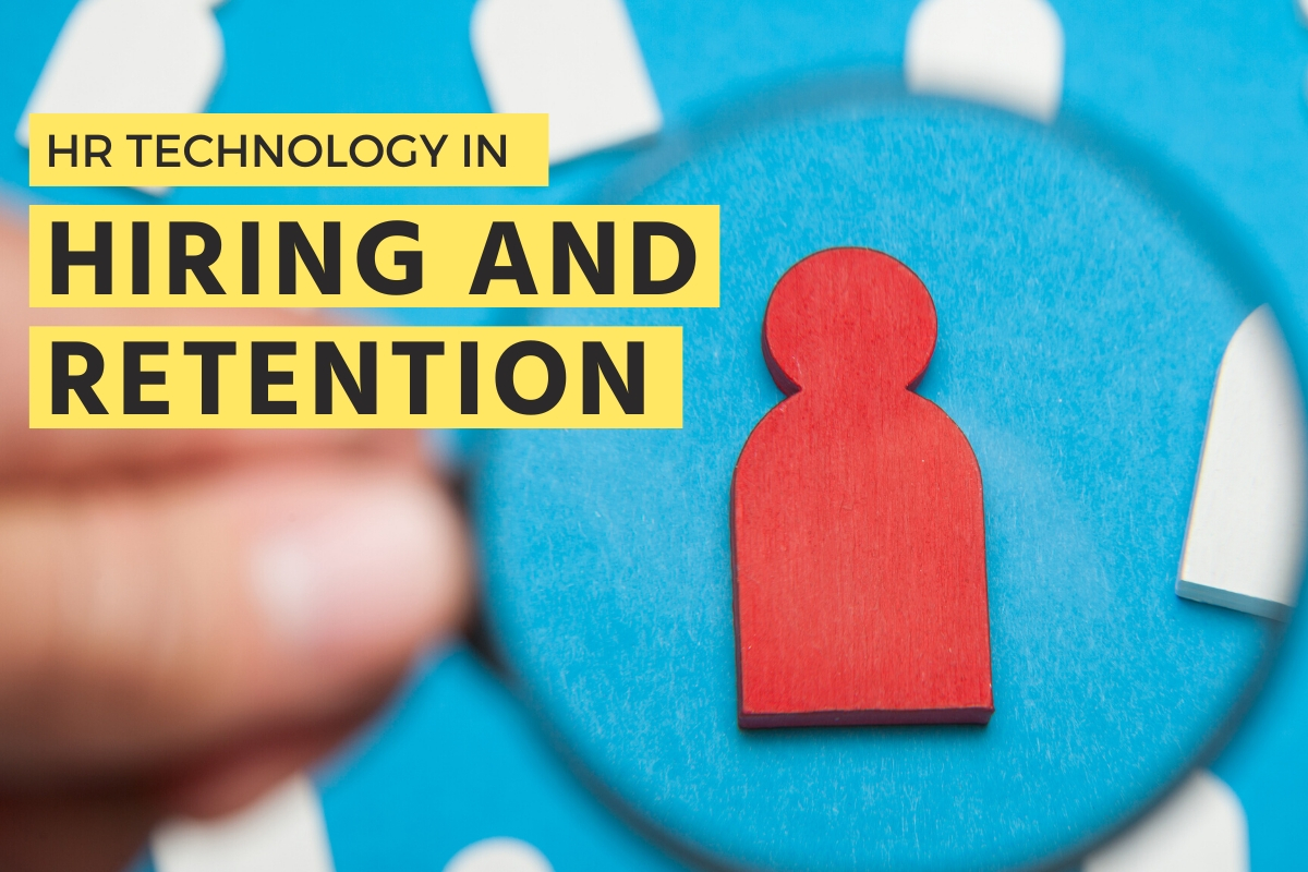 Magnifying glass on the candidate - HR Technology in Hiring and Retention