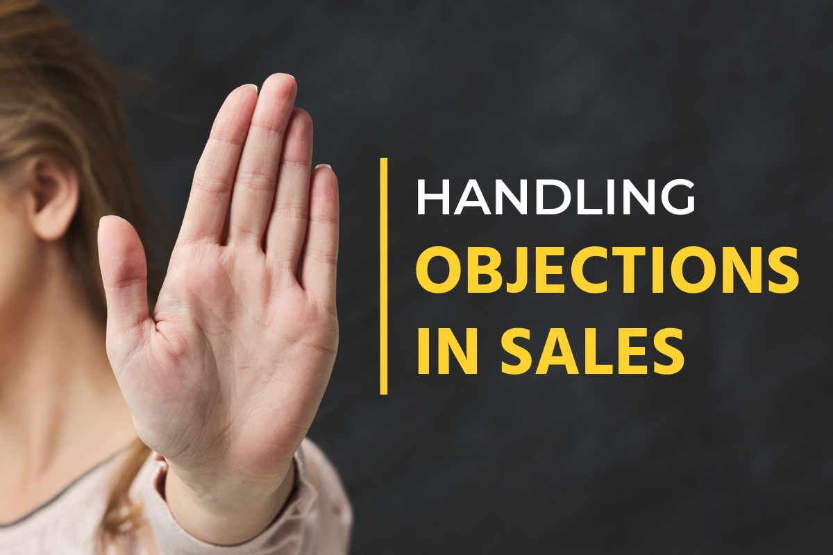 Woman objecting - Handling Objections in Sales