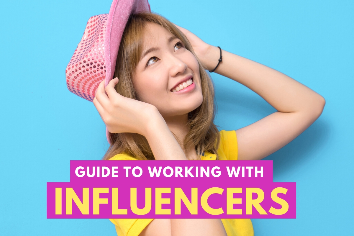 Influencer posing - Guide to Working With Influencers