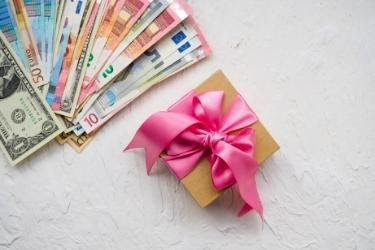 Money and a Gift