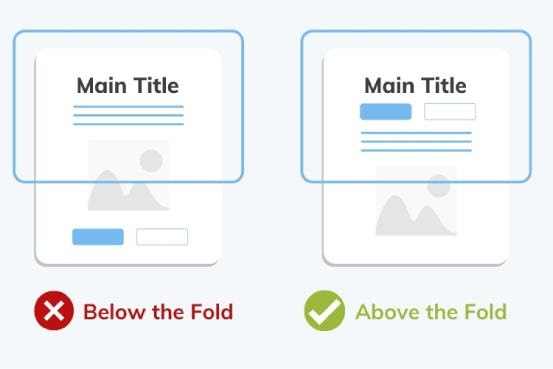 Below the Fold vs Above the Fold