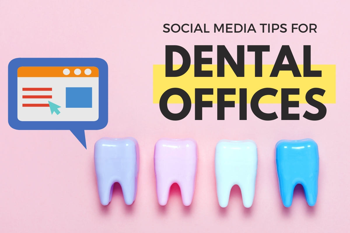 Colorful Plastic Teeth - Social Media Tips for Dental Offices