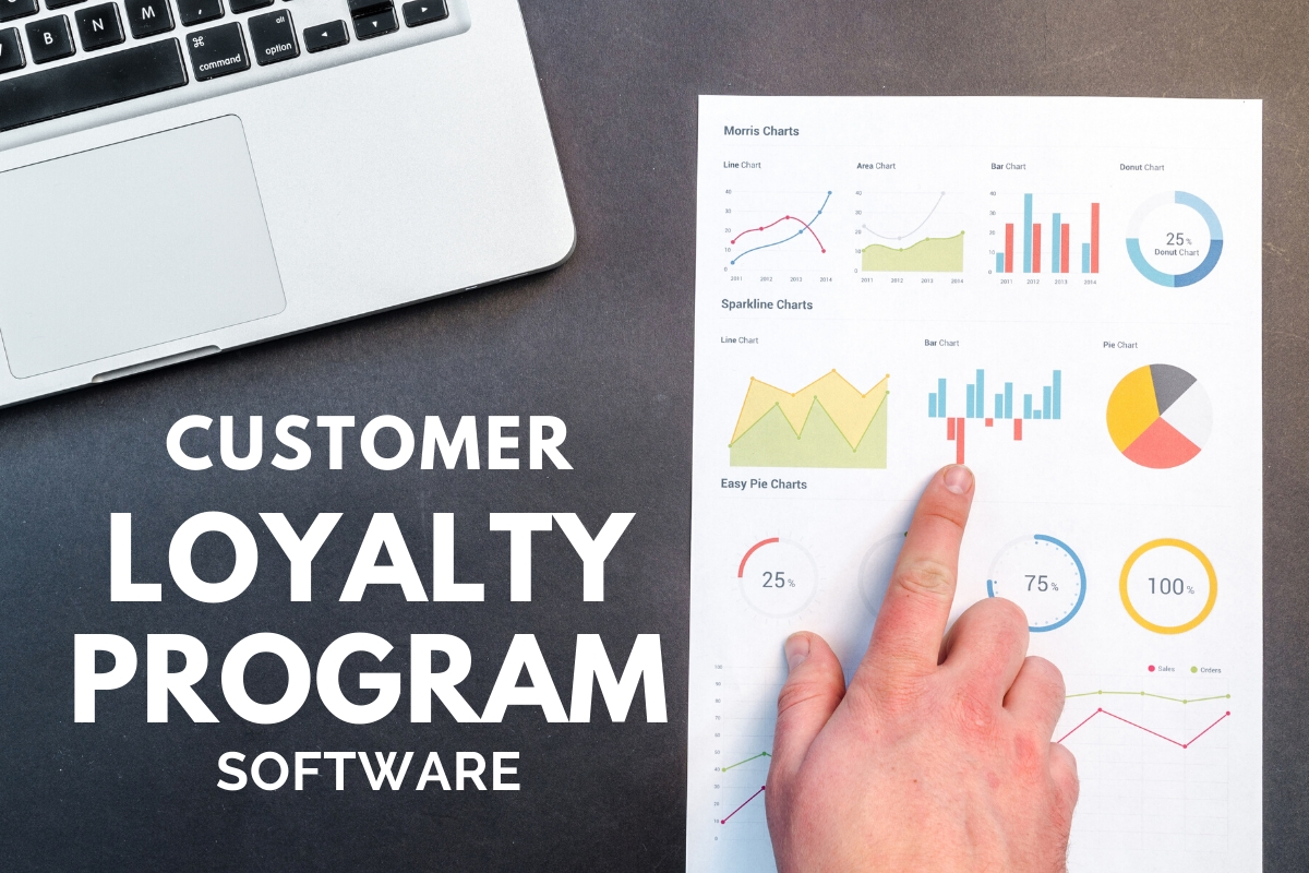 Hands pointing graphics - Customer Loyalty Program Software