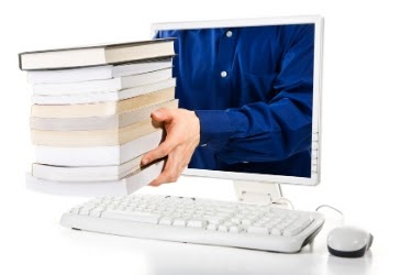 Online Document - Hands coming out of the monitor