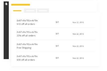 Screenshot of Smile.io customer's code