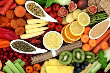 Fruits and Whole foods