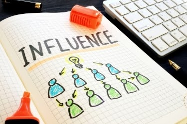 Influence - People influencing others about an idea