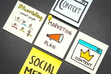 Marketing Plan - Storytelling, Context, Content and Social Media