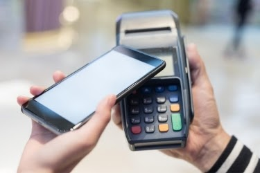 Paying with mobile phones - POS automation process