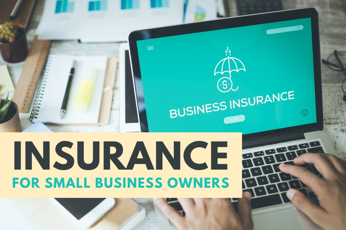 Person looking for a Business Insurance online - Insurance for Small Business Owners