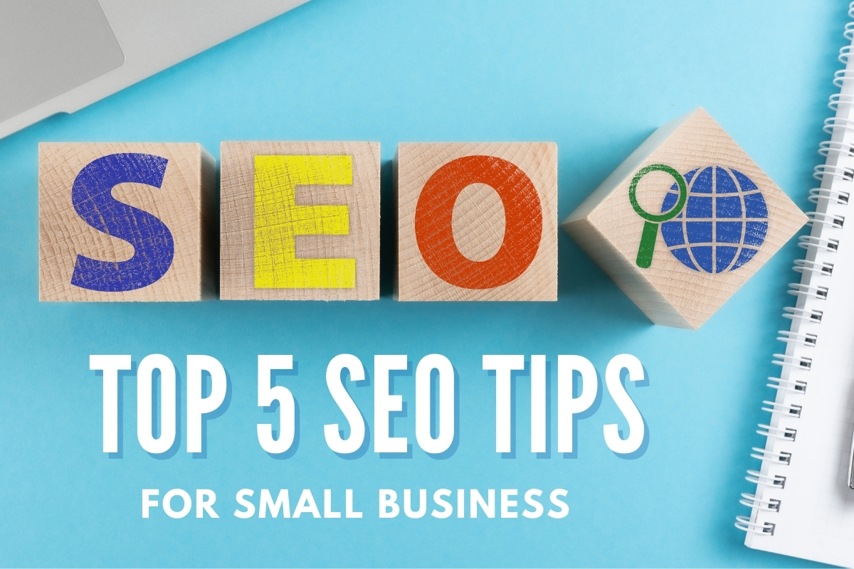 SEO blocks - Top-5 SEO Tips for Small Business