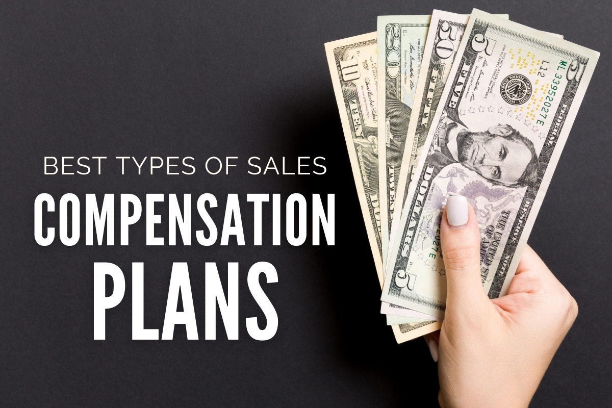 Hand with Dollar Bills - Best Types of Sales Compensation Plans