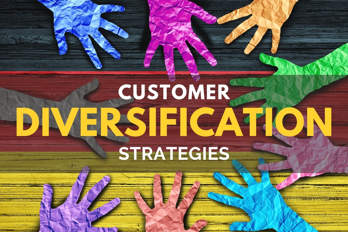 Different colors of hands - Customer Diversification Strategies