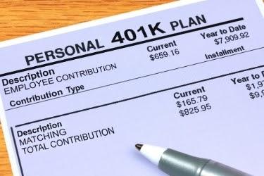 Personal 401k Plan paper