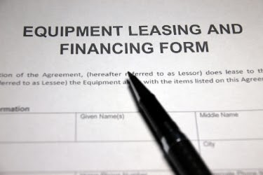 Equipment Leasing and Financing Form