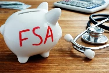 Piggy Back with FSA written on it