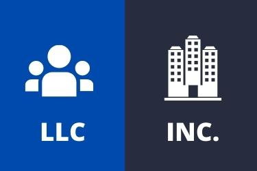 LLC (Group of people) vs Inc. (Corporate Building)