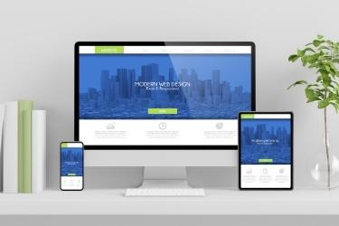 Responsive website in