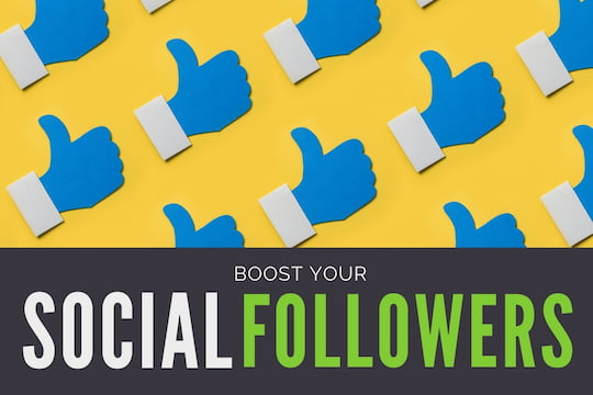 "A lot of ""Like"" icons - Boost Your Social Followers"