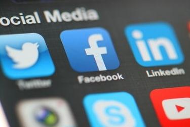 Social Media mobile icons