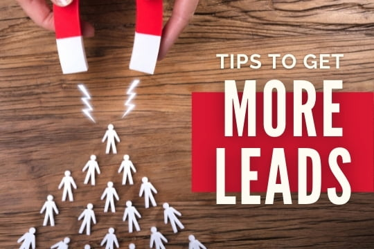 Magnet attracting people - How to Get More Leads