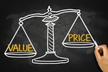 Balance - value vs price