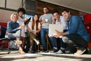 Small digital marketing team